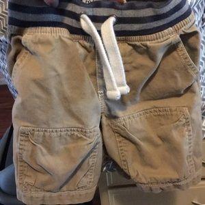 Mini Boden khaki shorts - 3T